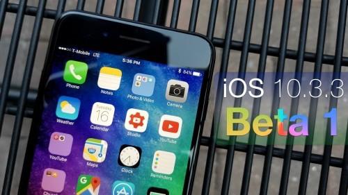Apple tung iOS 10.3.3 beta: Có 3 hình nền mới - 1
