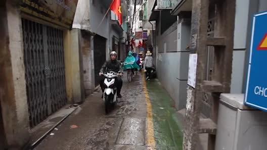 Ngỡ ngàng với làn đường độc nhất Việt Nam