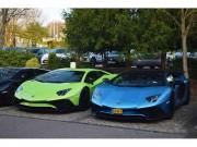 Tin tức ô tô - Bắt gặp siêu xe hiếm Aventador LP750-4 SV trên phố