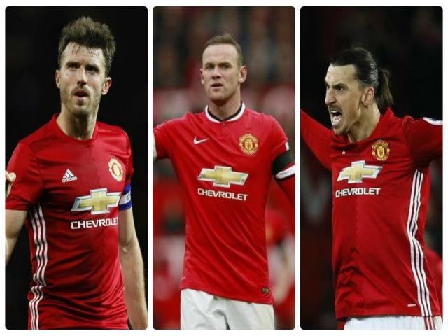 Chuyển nhượng MU: Thanh lý cả Rooney, Carrick, Ibra