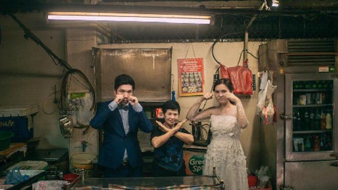 Cặp đôi Thái gây sốt vì chụp ảnh cưới với muôn kiểu món ăn - 8
