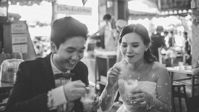 Cặp đôi Thái gây sốt vì chụp ảnh cưới với muôn kiểu món ăn - 10