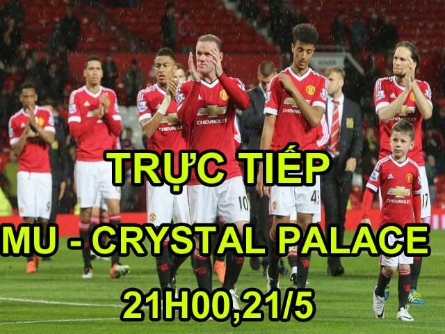 TRỰC TIẾP MU - Crystal Palace: 2 đòn chớp nhoáng