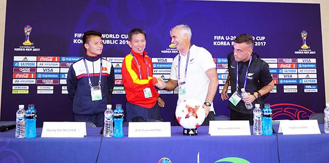 """U20 Việt Nam """"mơ"""" thắng U20 New Zealand bằng thực lực - 1"""