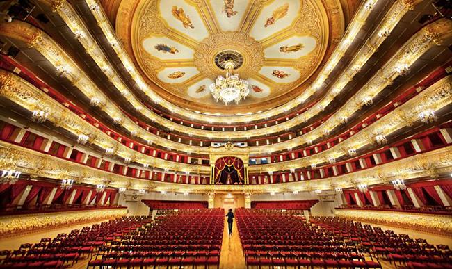 Nhà hát Ballet Bolshoi, Moscow, Nga.