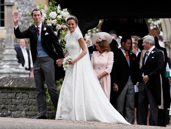 Ngạc nhiên về số tiền em gái Kate chi cho đám cưới với tỷ phú Anh - 1