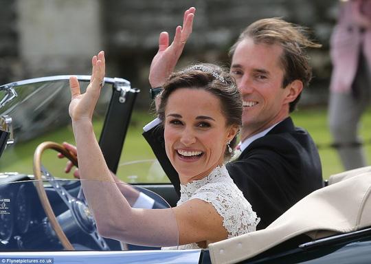 Ngạc nhiên về số tiền em gái Kate chi cho đám cưới với tỷ phú Anh - 3