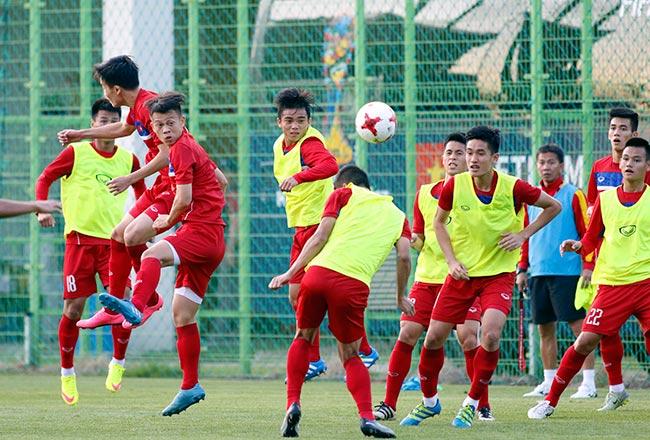 U20 Việt Nam xung trận: HLV Tuấn truyền bài tủ đấu New Zealand - 9