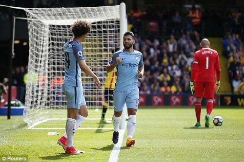 Chi tiết Watford - Man City: Vỡ trận hoàn toàn (KT) - 4