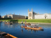 Đi dọc sông Cam thơ mộng ngắm đại học đào tạo nhân tài nước Anh