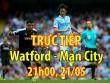 Chi tiết Watford - Man City: Vỡ trận hoàn toàn (KT)