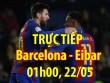 Chi tiết Barcelona - Eibar: Bàn thắng của sự buồn bã (KT)