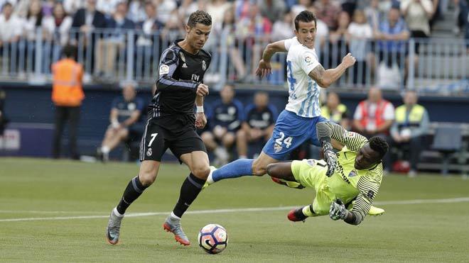 Malaga - Real Madrid: Ronaldo chắp cánh vinh quang - 1
