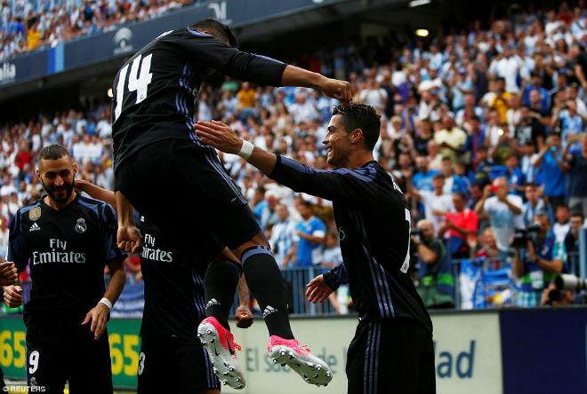 "Real ""lên đỉnh"" Liga sau nửa thập kỉ: Ronaldo, Zidane vỡ òa - 6"