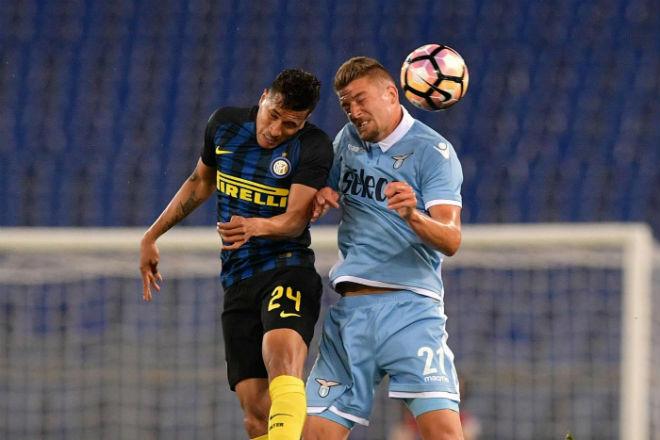 Lazio - Inter Milan: Đại bại vì hai chiếc thẻ đỏ tai hại - 1