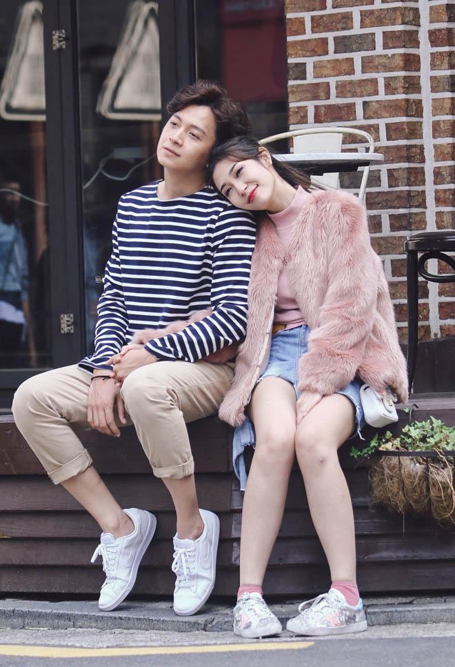 """Ngô Kiến Huy và bạn gái tái hiện cảnh """"Nấc thang lên thiên đường"""" - 6"""