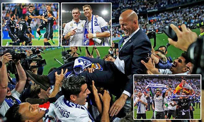 Liga 2017 hạ màn: Zidane – Ronaldo hạ đo ván Messi - 1