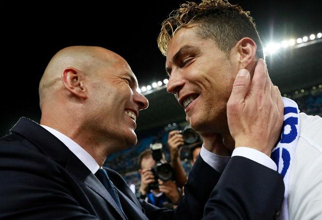 Zidane đưa Real lên ngôi vô địch Liga: Hình bóng Sir Alex - 1