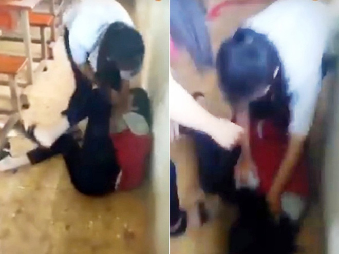 """Tin mới nhất vụ nữ sinh bị đánh bầm dập vì câu """"chúc anh ngủ ngon"""" - 1"""