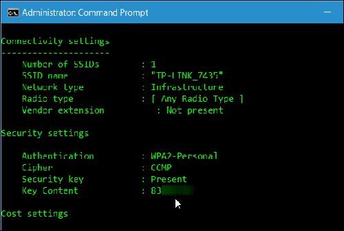 Mẹo tìm mật khẩu Wi-Fi từng truy cập trên máy tính Windows - 7