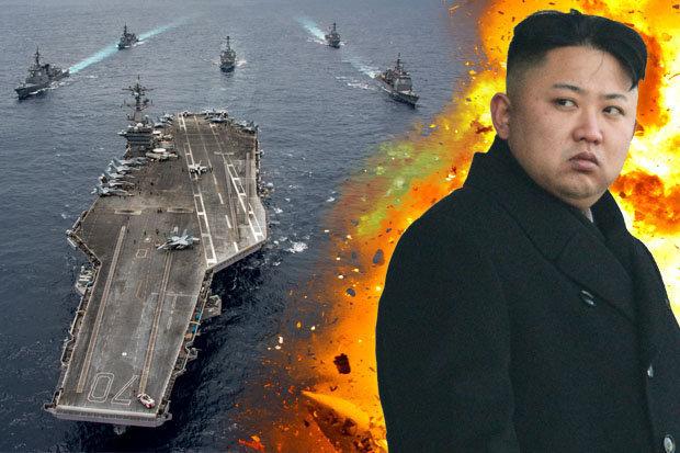 """Triều dọa """"giáng đòn tàn nhẫn"""" gọng kìm tàu sân bay Mỹ - 1"""