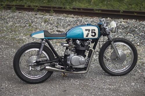 """Honda CB500T 1975 """"lột xác"""" dưới bàn tay """"phù thủy"""" - 6"""