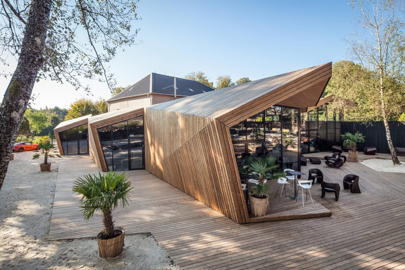 Nhà hàng gây sốt vì kiến trúc góc cạnh độc đáo - 3