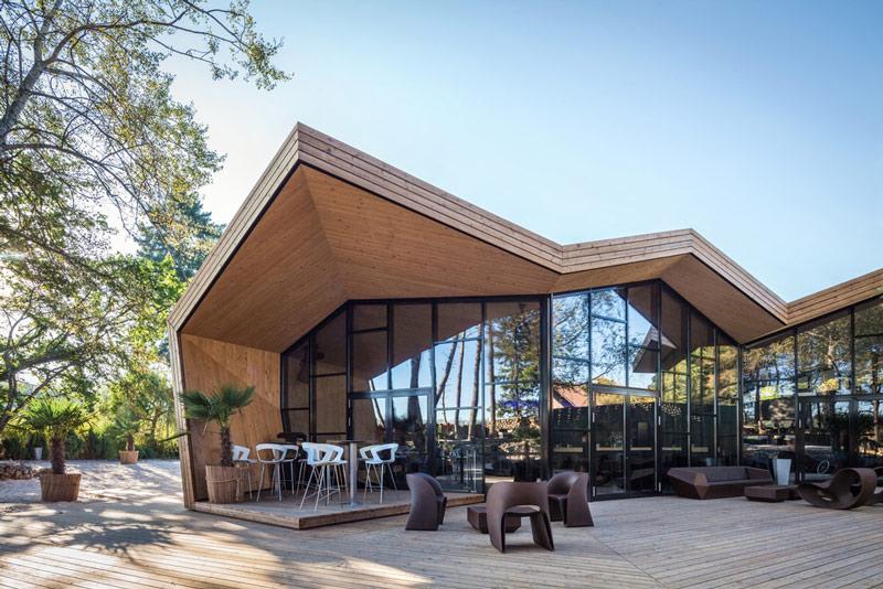 Nhà hàng gây sốt vì kiến trúc góc cạnh độc đáo - 4