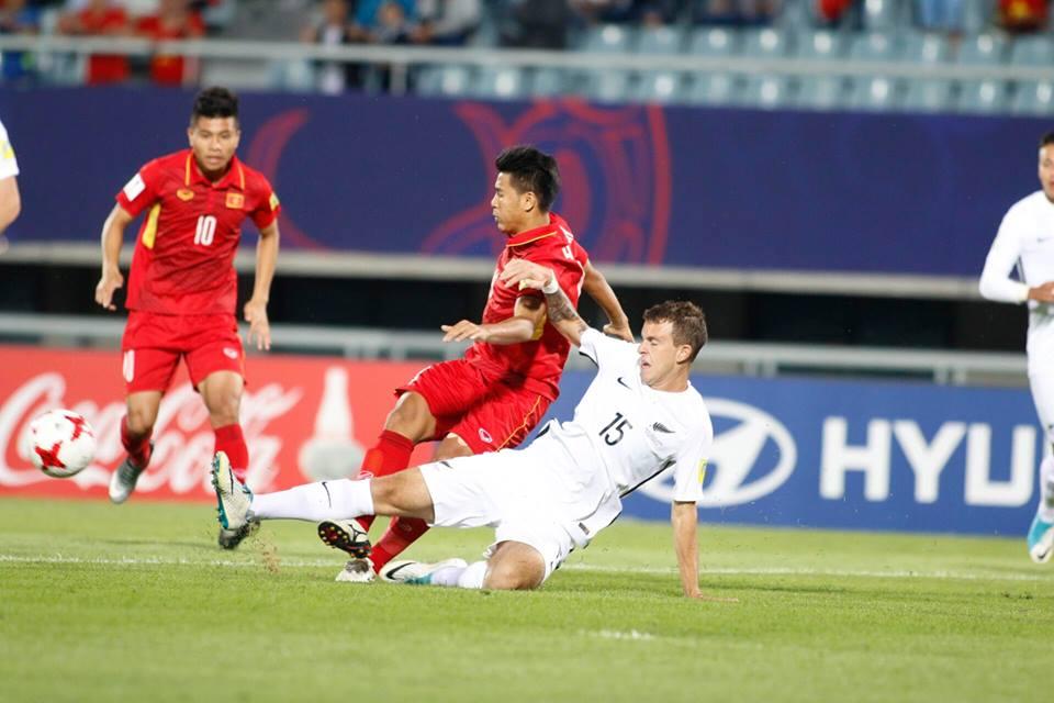 """TRỰC TIẾP U20 Việt Nam - U20 New Zealand: Thách thức """"người nhện"""" Woud - 4"""