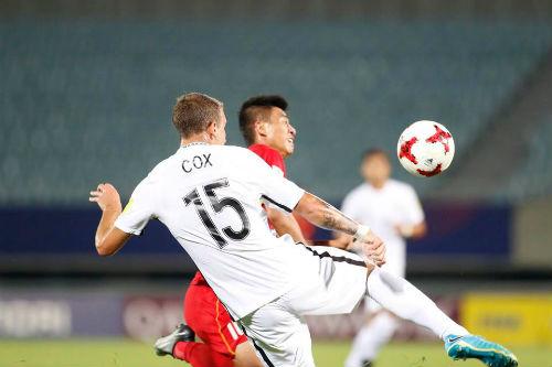 """TRỰC TIẾP U20 Việt Nam - U20 New Zealand: Thách thức """"người nhện"""" Woud - 7"""