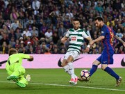 """Bóng đá - Messi: Ngày """"chân gỗ"""" vẫn giành Pichichi, ẵm Chiếc giày vàng"""