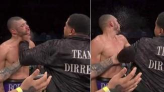 """Boxing: Cháu bị chơi bẩn, chú lên đài """"cân tất"""""""