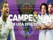 Real vô địch Liga: Siêu sao lên đỉnh, thiên đường gọi tên (Infographic)