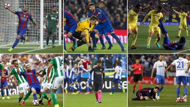 Barca bị Real soán ngôi: Tiên trách kỷ, hậu trách...trọng tài - 1