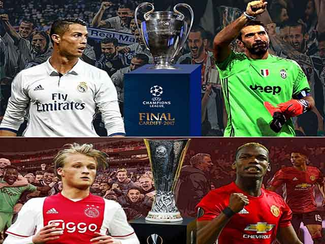 Real - Juventus, MU - Ajax: Xứng danh