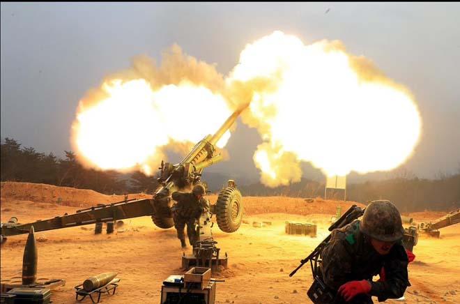 Hàn Quốc bất ngờ nổ súng cảnh cáo về phía Triều Tiên - 1