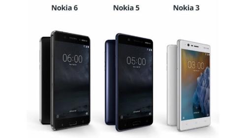 Đã có giá bộ ba Nokia 3, 5, 6 tại Việt Nam - 1