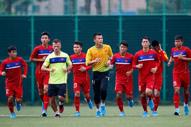 U20 VN: Sao trẻ nhà bầu Đức so tài tâng bóng HLV Hoàng Anh Tuấn - 5