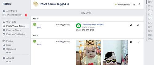 Tìm kiếm các bài đăng cũ trên dòng thời gian của Facebook - 1