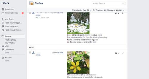Tìm kiếm các bài đăng cũ trên dòng thời gian của Facebook - 2