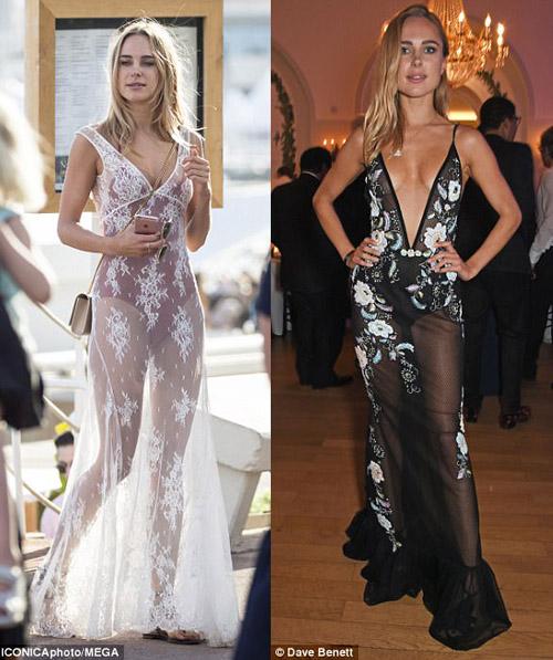 """Kiều nữ """"lộ liễu"""" ở Cannes vì mặc ngắn, mỏng như sương - 7"""