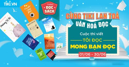 """Tiki.vn ra mắt chương trình """"Freeship dù chỉ một cuốn sách"""" - 2"""