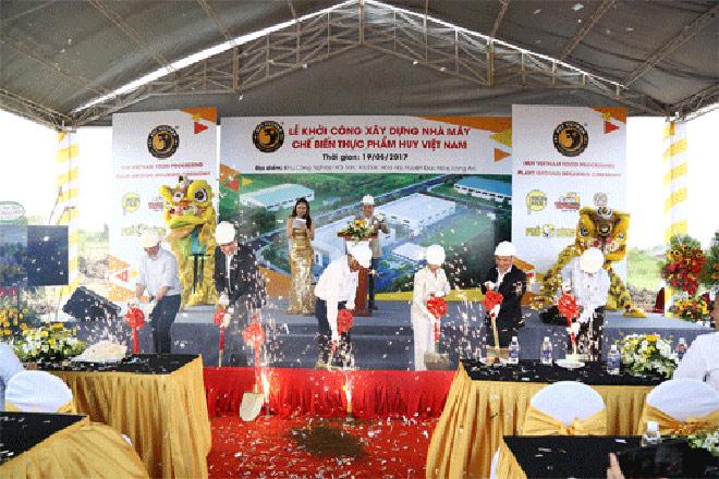 Huy Việt Nam khởi công xây dựng 2 nhà máy thực phẩm trị giá 40 triệu USD - 1