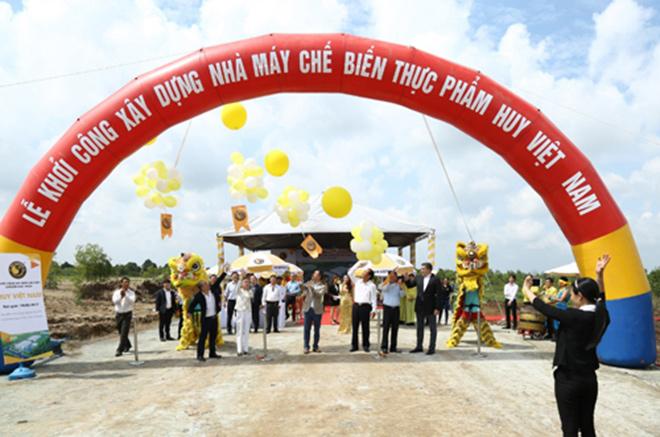 Huy Việt Nam khởi công xây dựng 2 nhà máy thực phẩm trị giá 40 triệu USD - 3