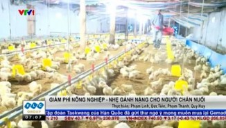 Giảm phí nông nghiệp - Nhẹ gánh nặng cho người chăn nuôi