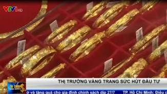 Thị trường vàng trang sức hút đầu tư