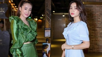 """Nhã Phương """"mặc lại"""" áo của Hà Hồ dự ra mắt MV"""