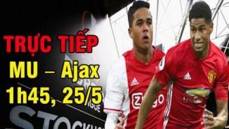 TRỰC TIẾP bóng đá MU – Ajax Amsterdam: Fan MU nhuộm đỏ Stockholm