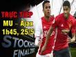 TRỰC TIẾP bóng đá MU – Ajax Amsterdam: Rashford và Martial sẽ làm nên chuyện