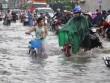 Mưa 1 giờ, đường Sài Gòn như mùa nước lũ miền Trung